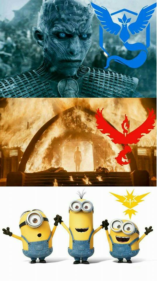 Night King, Mother of Dragons, and Minions